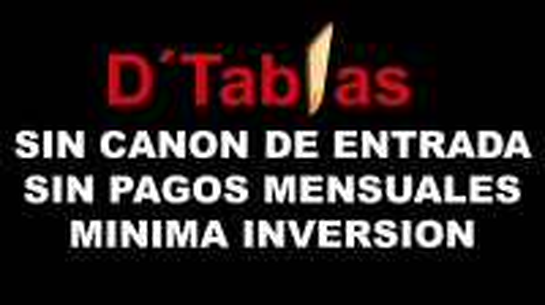 Franquicia D'Tablas Grupo Tapa-Caña